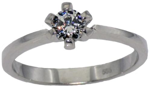 Silber Diamantring06